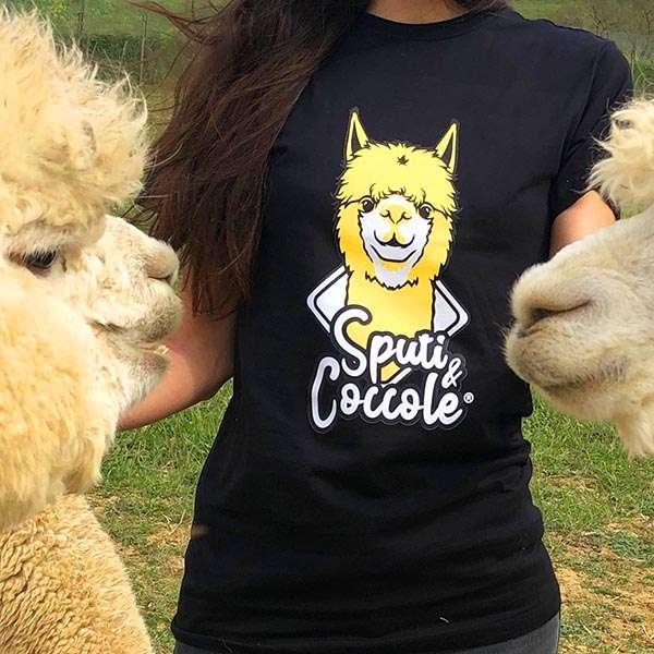 Tshirt con Alpaca