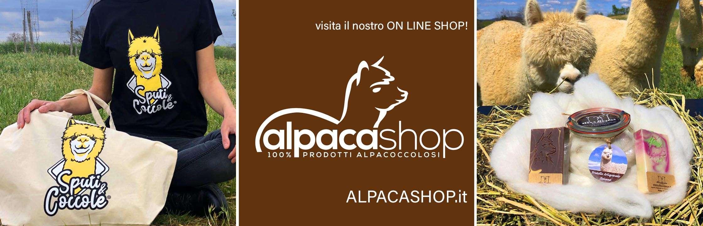 alpaca shop prodotti alpaca